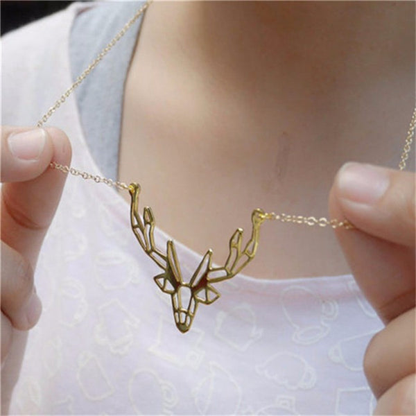 New Deer Necklace