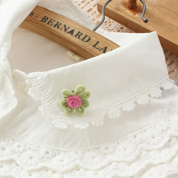 White long sleeve blouse