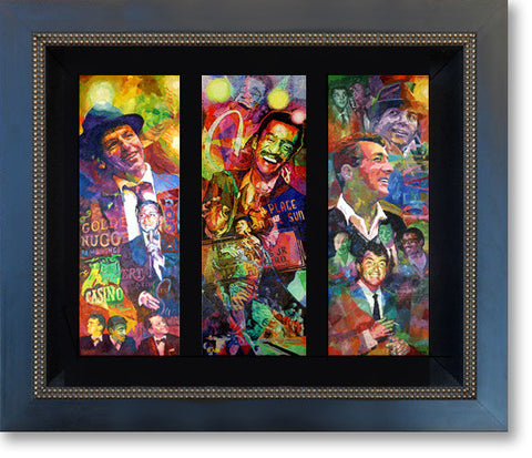 Rat Pack Triptych