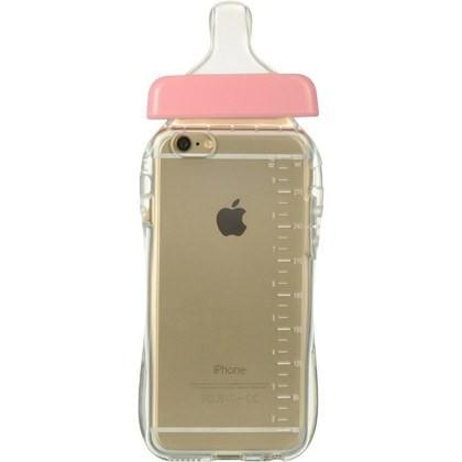 iPhone 6/6s - Roze babyfles hoesje - PhoneJunkie