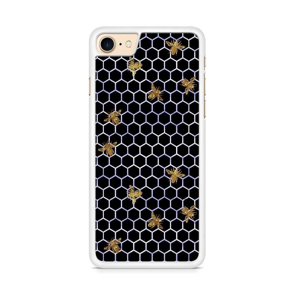 Beez In the Trap Blue/Gold hoesje - PhoneJunkie - telefoonhoesje - naamhoesje - personaliseren