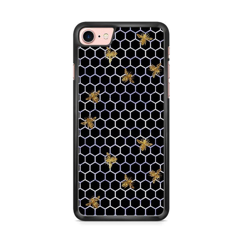 Beez In the Trap Blue/Gold hoesje - PhoneJunkie