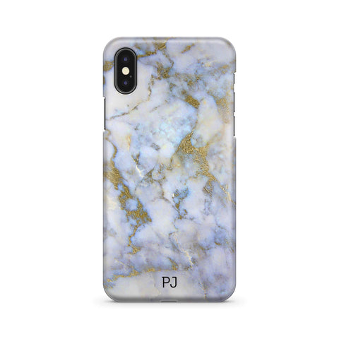 Marble Purple Monogram - Wrap Naamhoesje