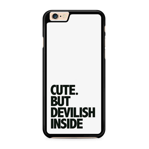 Cute but Devilish hoesje - PhoneJunkie