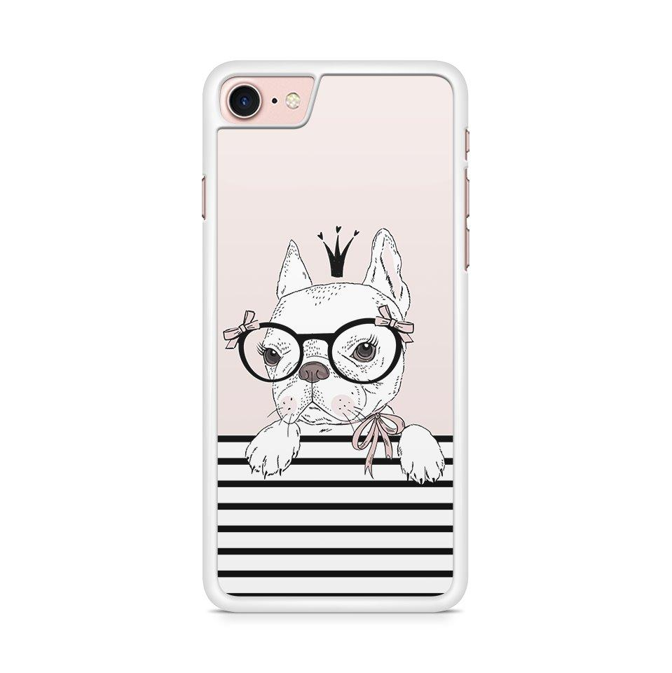 Queen Frenchie hoesje - PhoneJunkie