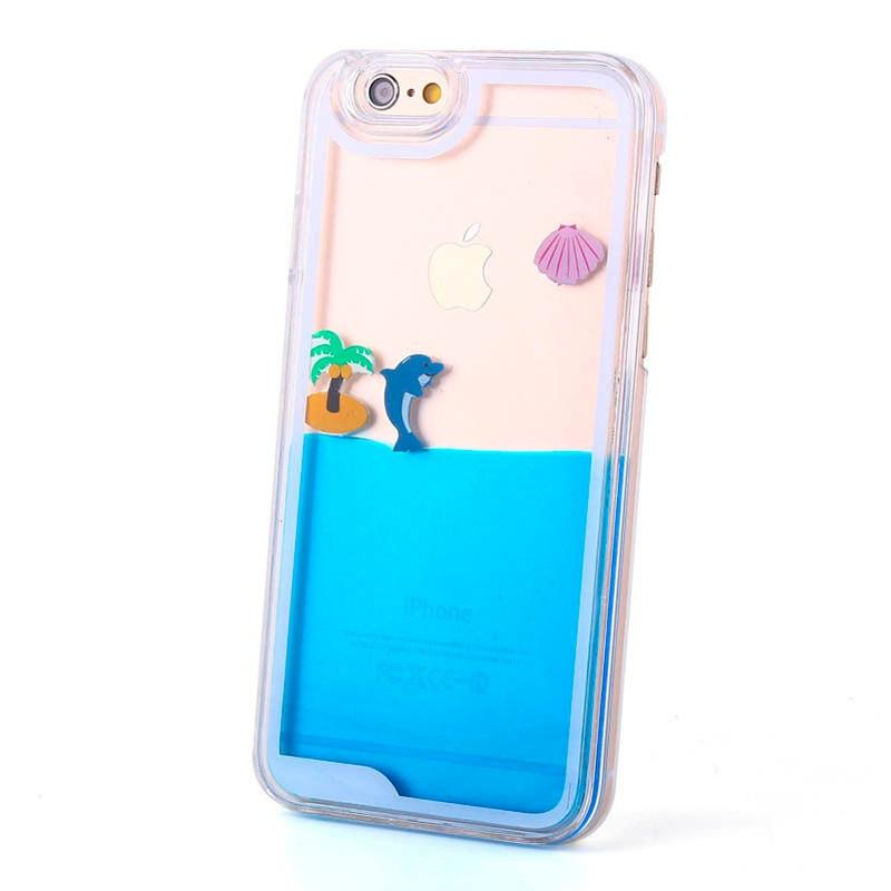 Blue Summer Tropical hoesje - PhoneJunkie