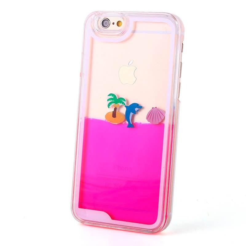 Pink Summer Tropical hoesje - PhoneJunkie