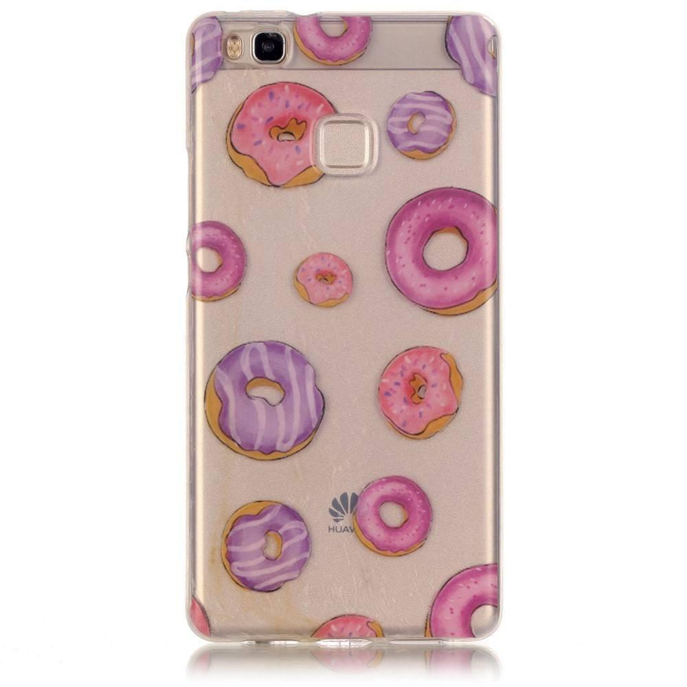 Huawei P9 Lite - Donuts Transparant hoesje - PhoneJunkie