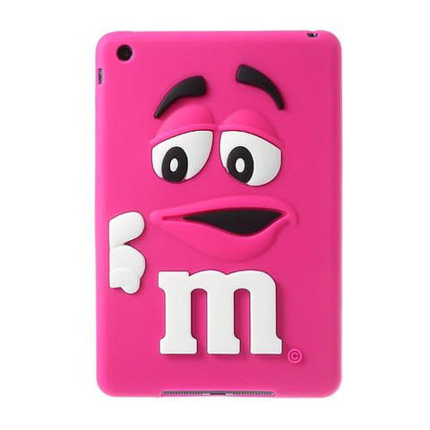 iPad Mini/ Mini 2 / Mini 3 Hoesje - M&M Roze