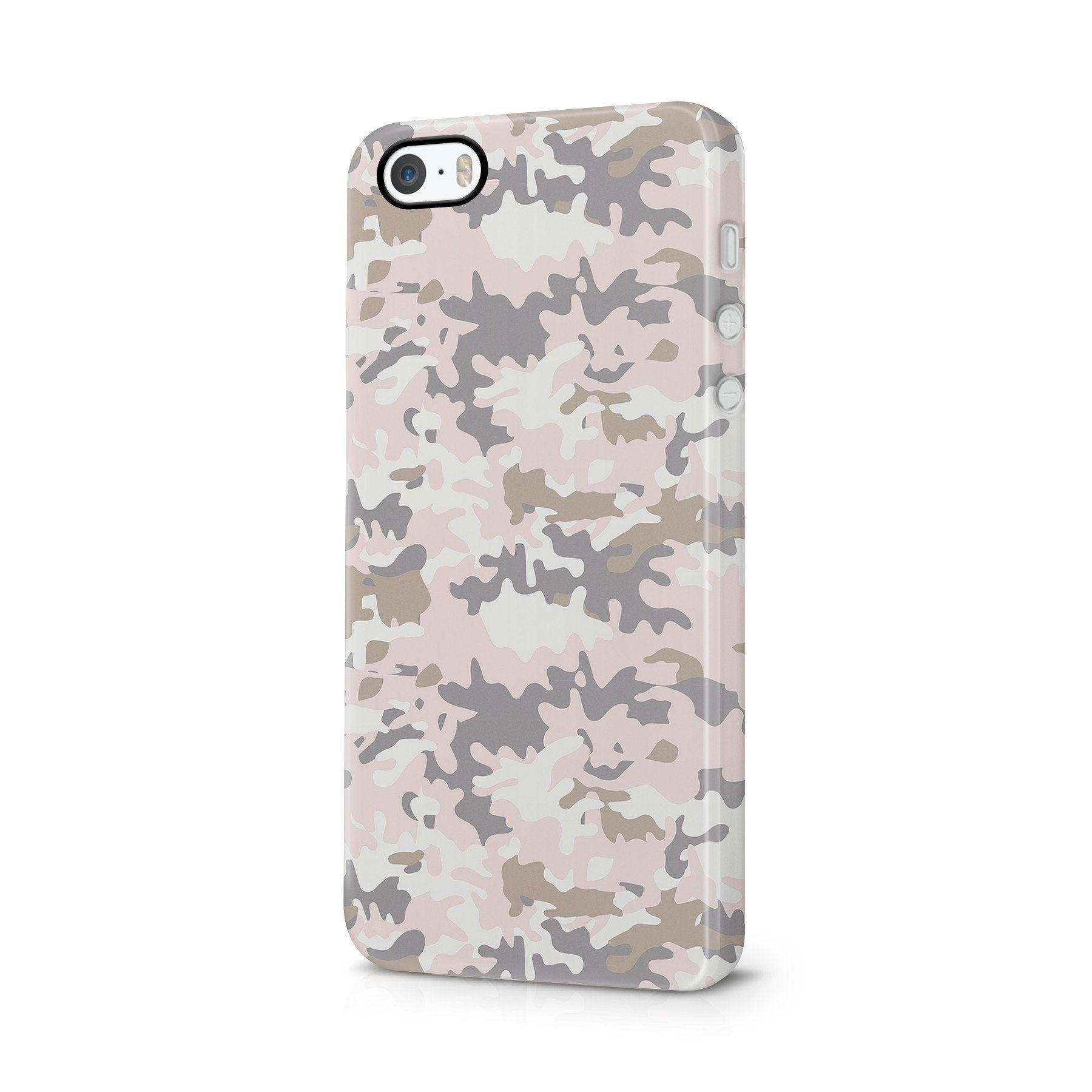 iPhone 5/5s hoesje - Camouflage Nude
