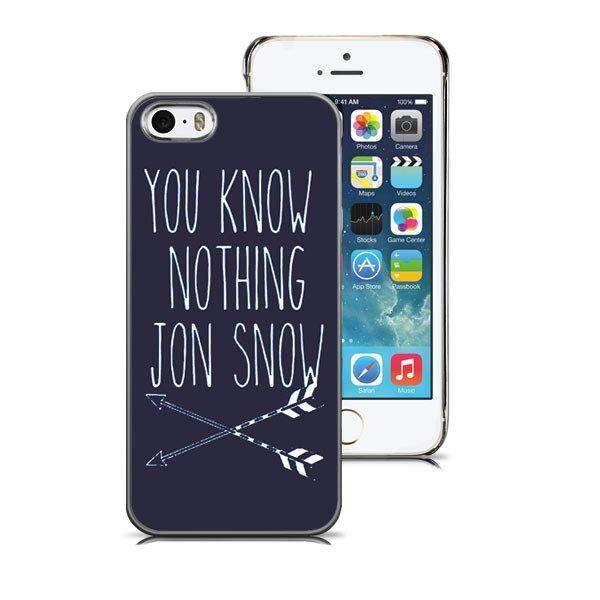 iPhone 5/5S hoesje - Jon Snow Deluxe - PhoneJunkie