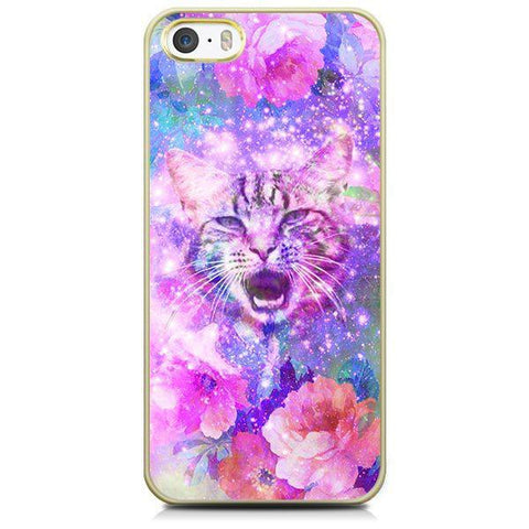 iPhone 5/5S hoesje - Space Cat Deluxe - PhoneJunkie