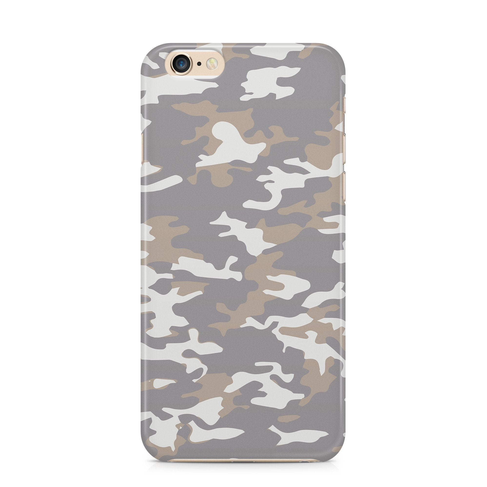 iPhone 6/6s hoesje -  Camouflage Bruin