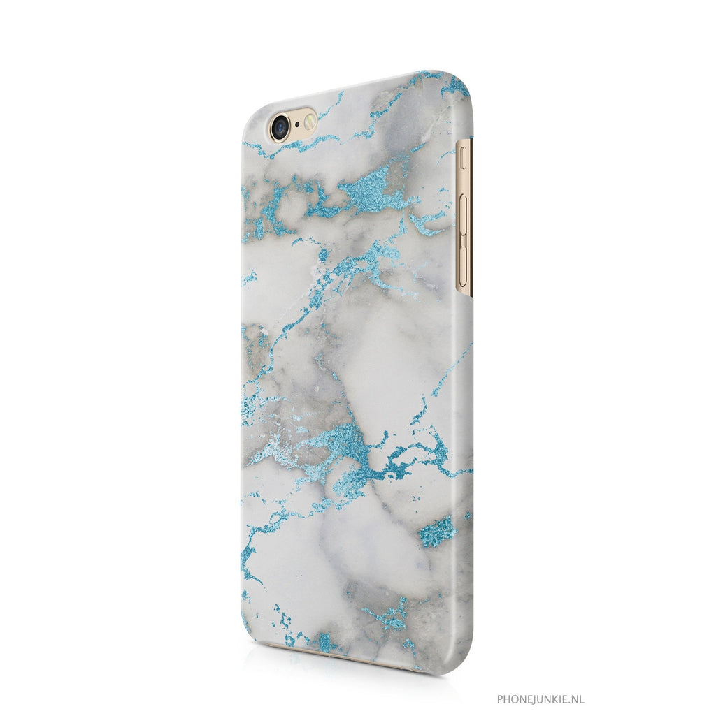 iPhone 6/6s hoesje -  Blue Marble - PhoneJunkie
