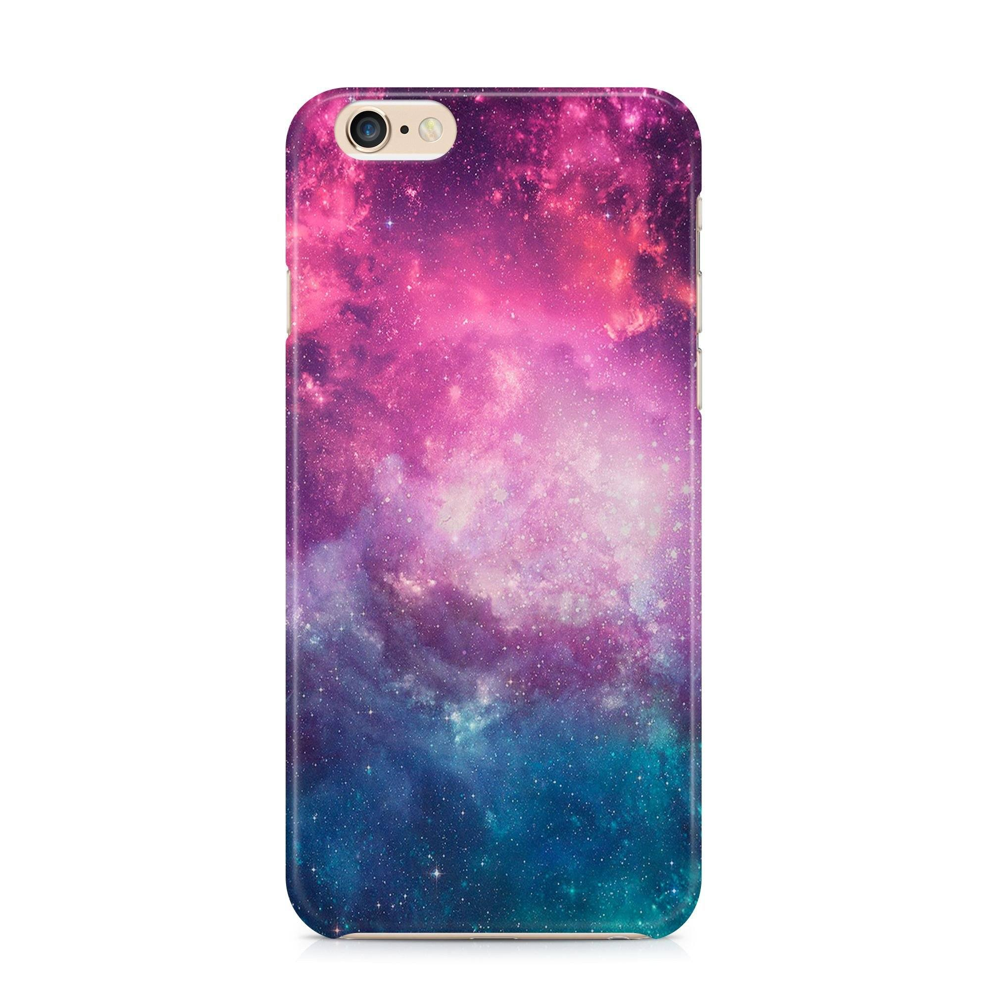 iPhone 6/6s hoesje - PinkBlue Space - PhoneJunkie