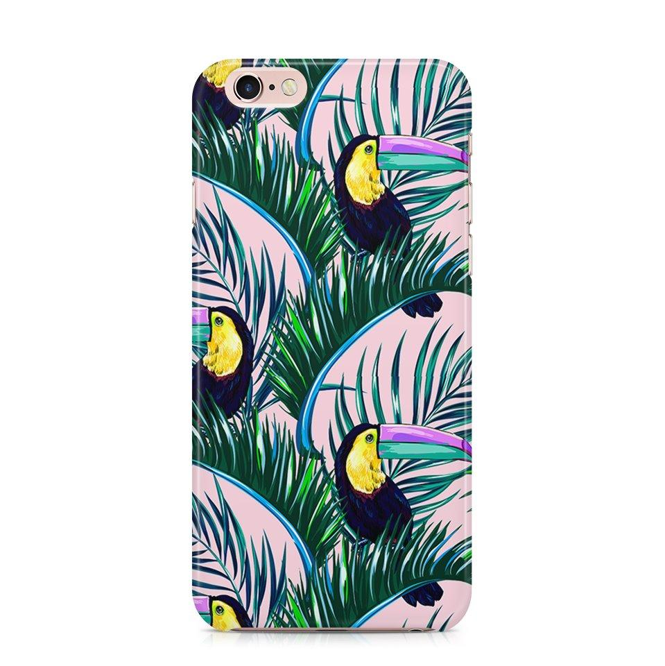 iPhone 6/6s hoesje - Tropical Toucan - PhoneJunkie