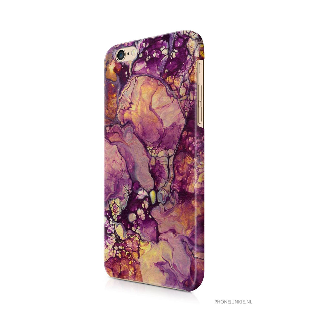 iPhone 6/6s hoesje - Paars Space - PhoneJunkie
