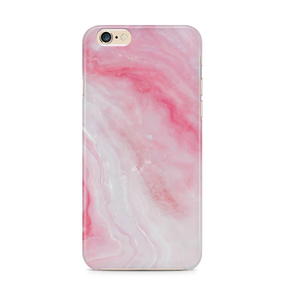 iPhone 6/6s hoesje -  Pink Marble