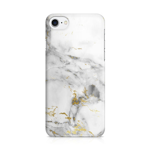 iPhone 7 hoesje - Gold Marble