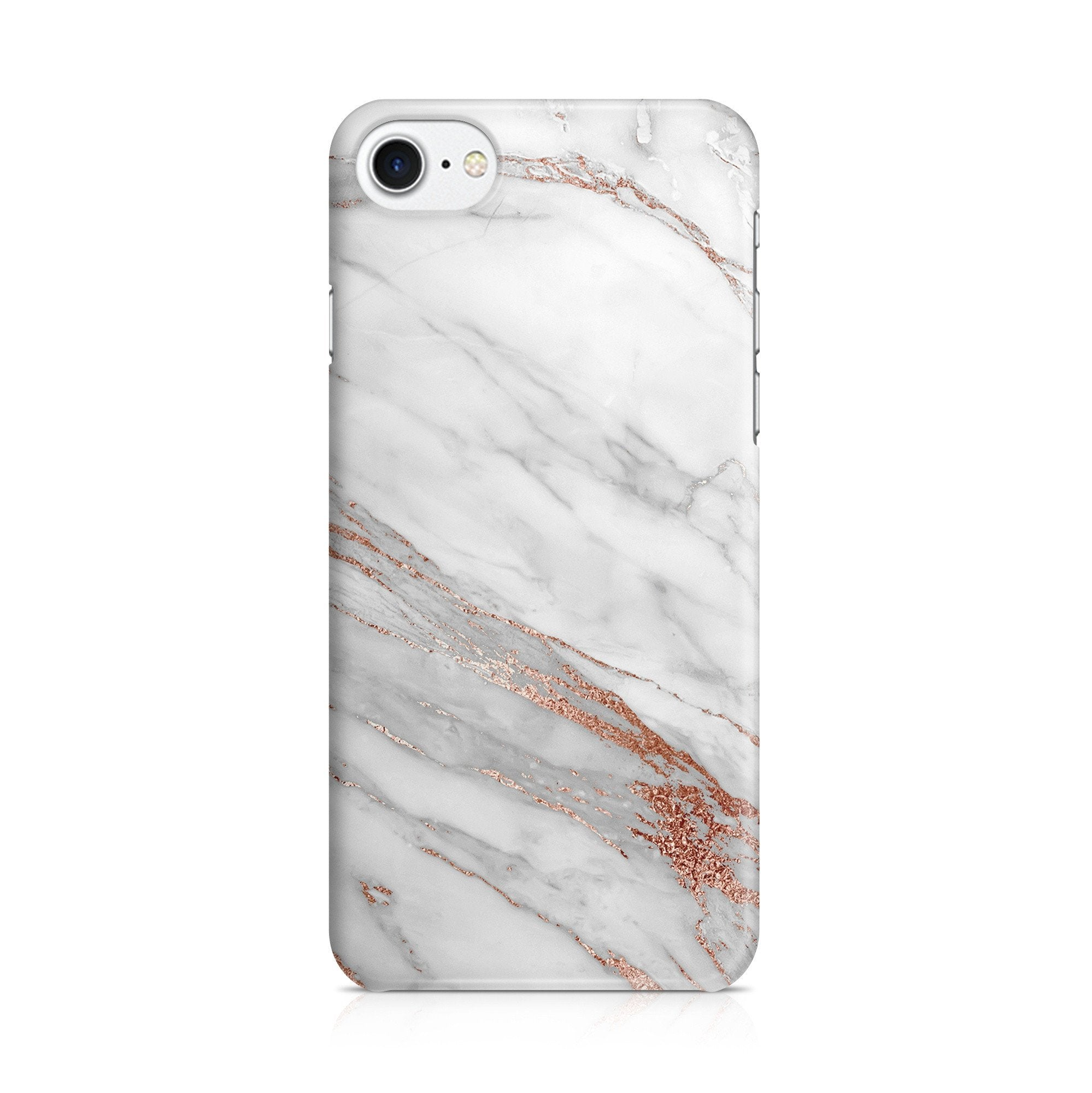 iPhone 7 hoesje - RoséGold Marble