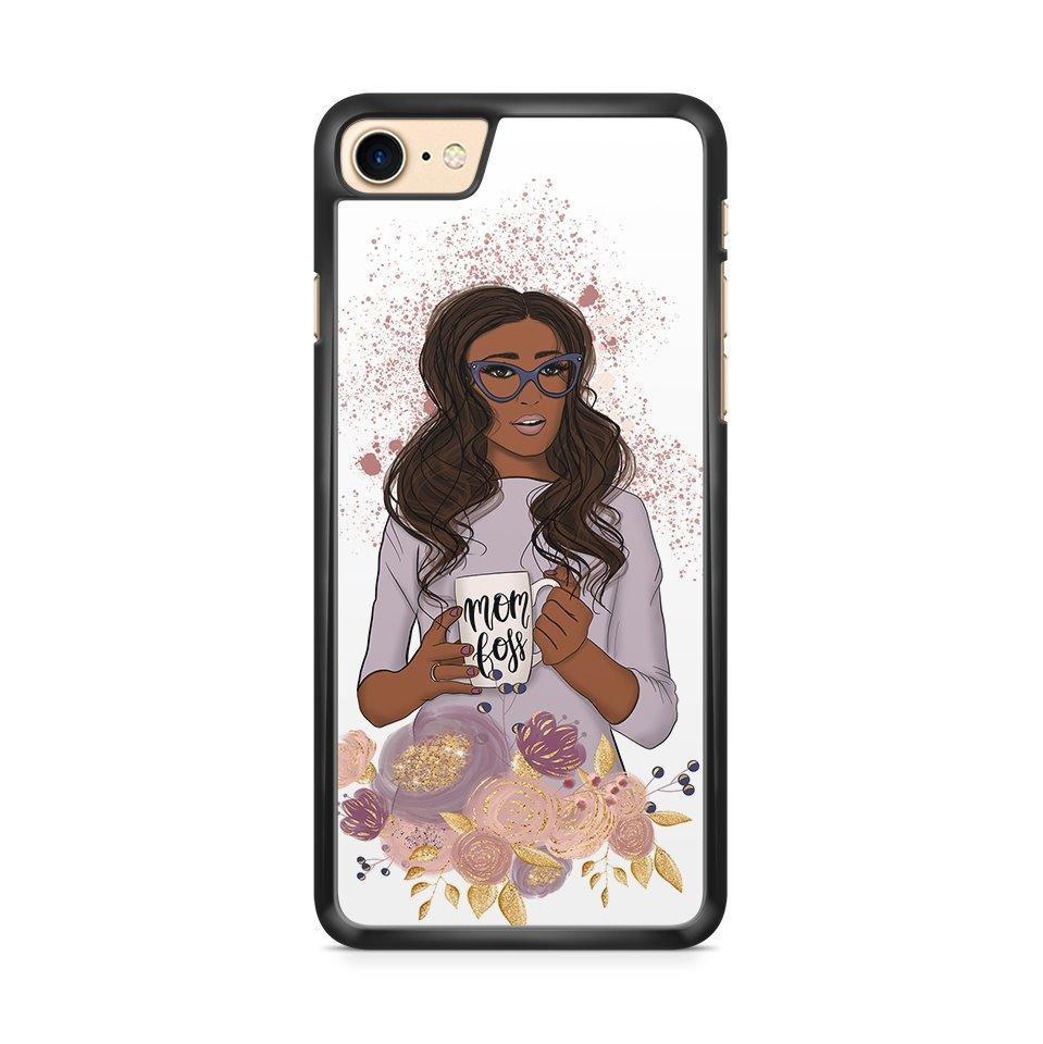 Boss Mom hoesje - blond/brown/red - PhoneJunkie - telefoonhoesje - naamhoesje - personaliseren