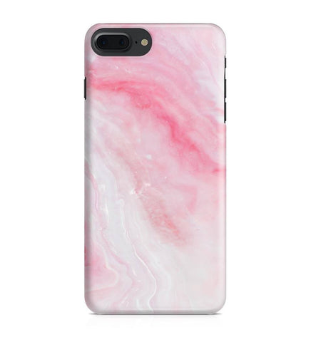 iPhone 7 Plus hoesje - Pink Marble