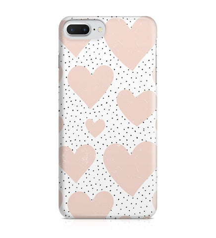 iPhone 7 Plus hoesje - Pink Love - PhoneJunkie