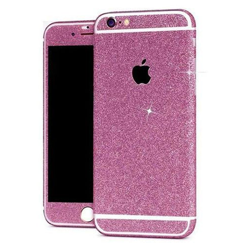 Glitter Sticker Roze - PhoneJunkie