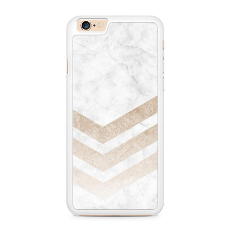 Marble Gold Stripes hoesje - PhoneJunkie