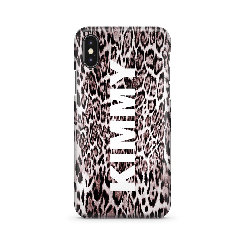 Smooth Leopard - Wrap Naamhoesje - PhoneJunkie