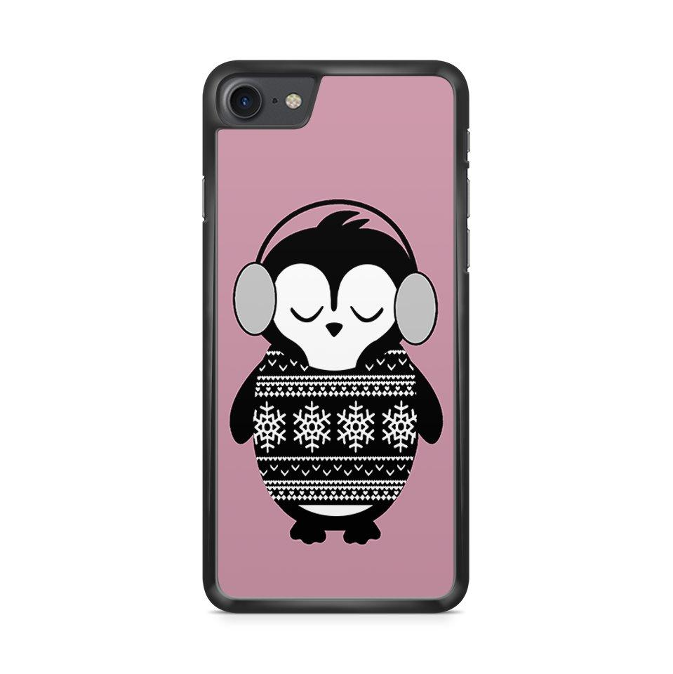 Winter Penguin hoesje - PhoneJunkie