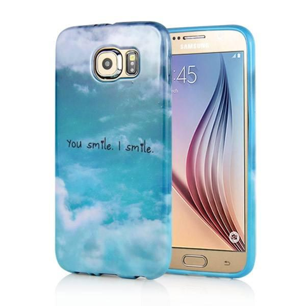 Samsung Galaxy S6 - You Smile, I Smile gelhoesje - PhoneJunkie