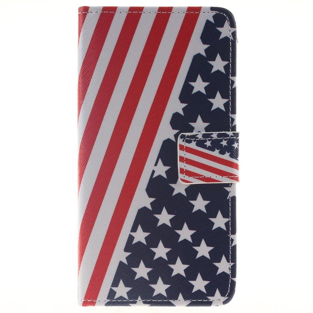 Samsung Galaxy J5 2016 - USA Flag Fliphoesje - PhoneJunkie