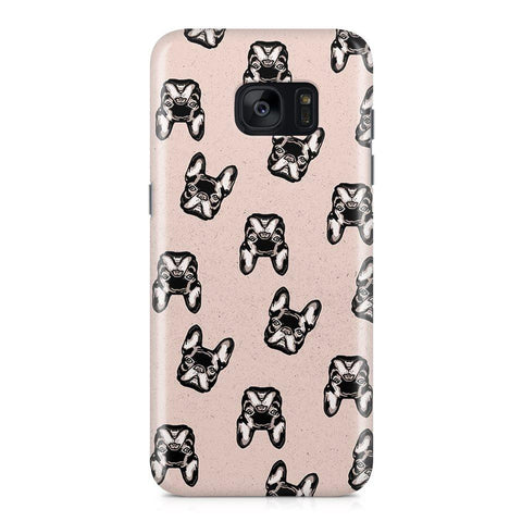 Samsung Galaxy S7 hoesje -  Cute Frenchie - PhoneJunkie