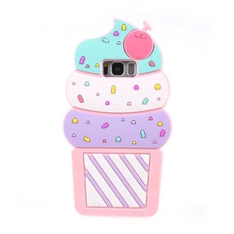 Samsung Galaxy S8 - IceCream 3D Hoesje