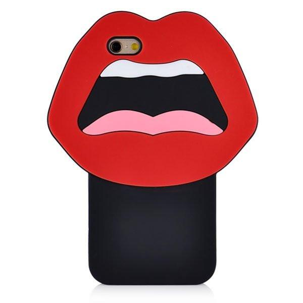 iPhone 6/6s - Lushes Lips Hoesje - PhoneJunkie