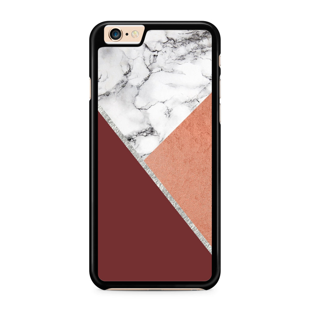 Red Marble Rosé hoesje - PhoneJunkie