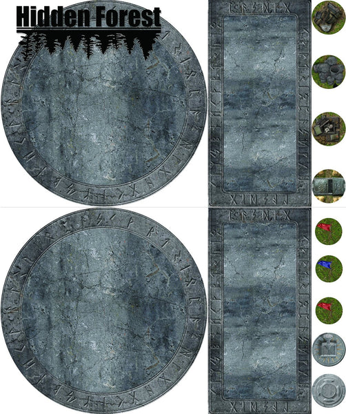 graphic about 2d Printable Terrain known as 2D Terrain Sets Web site 3 HiddenForestGaming