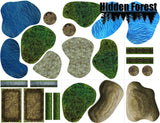 (Plastic) HiddenForest Terrain Pack for Warmachine and Hordes