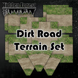 Dirt Road Terrain Set for Tabletop racing (Gaslands)