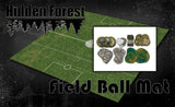 "<h3><strong><span style=""text-decoration: underline;"">*14% Bundle Savings*</span></strong></h3>HiddenForest Guildball Mat and Terrain Set"