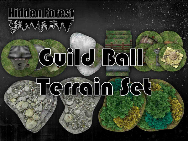 HiddenForest Guild Ball Terrain Set