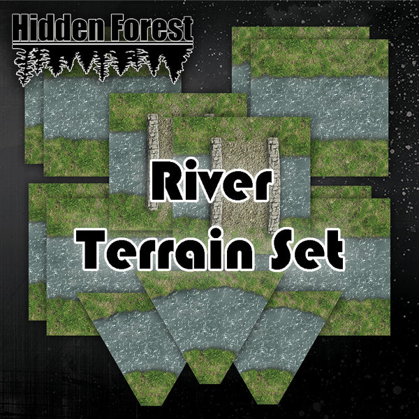 Rivers Terrain Set