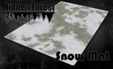 HiddenForest Snow Terrain Mat