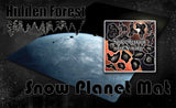 Space Gaming Mat Snow Planet (Hoth) and Terrain Combo