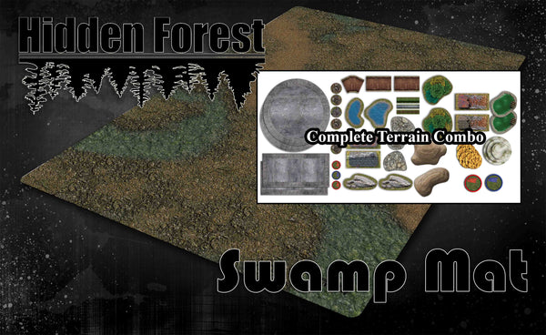 "<h3><strong><span style=""text-decoration: underline;"">*Up to 14% Bundle Savings*</span></strong></h3>Swamp Mat Scenario/Terrain Bundle"
