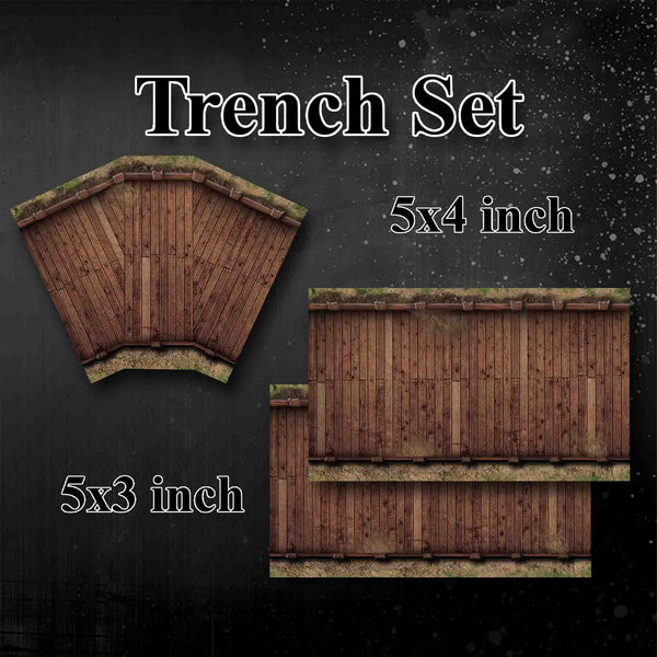HiddenForest Trench Set
