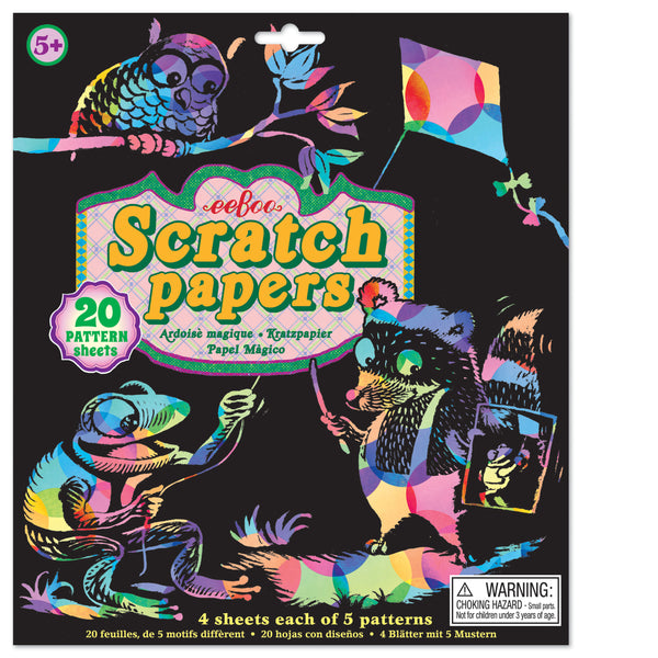 Scratch papers - colores