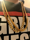 Cuban Franco XL Gold Chain Bundle