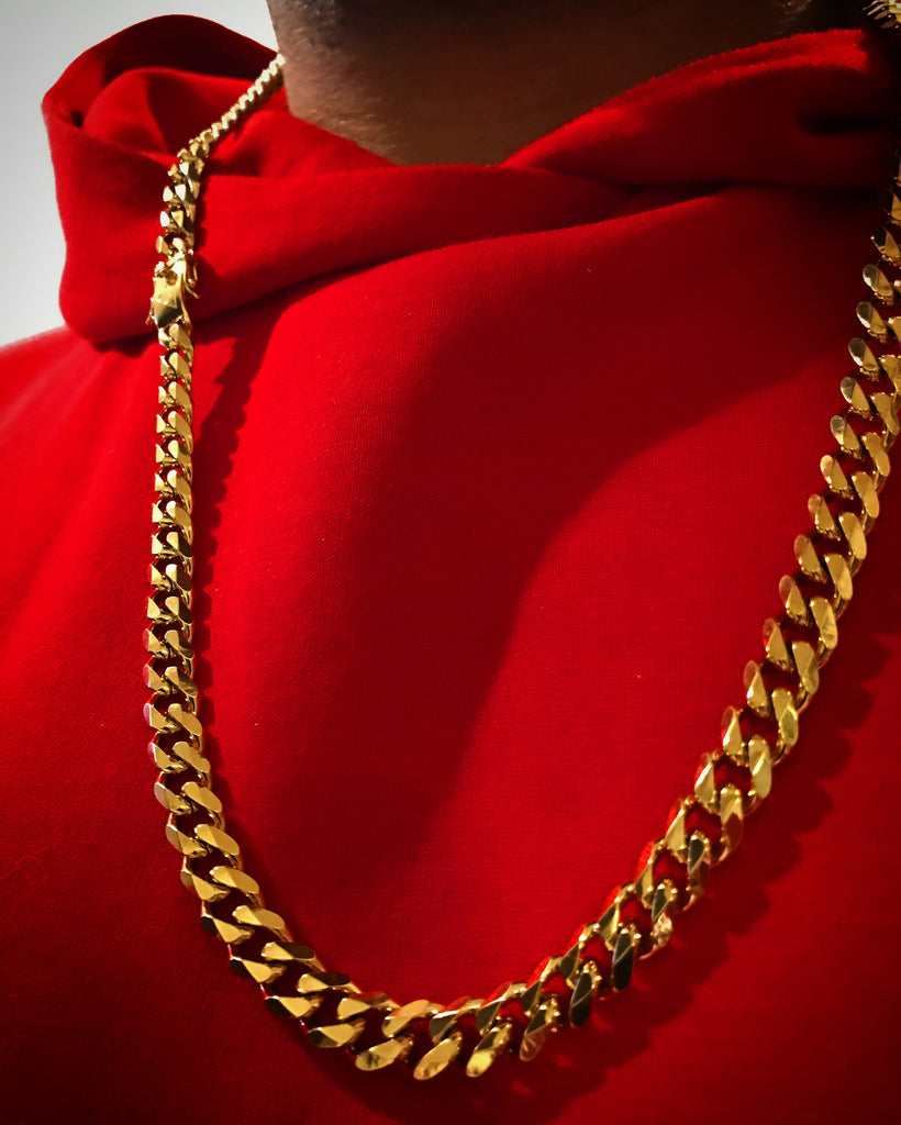 CUBAN Miami Gold Chain – Ancient Aura Jewelry